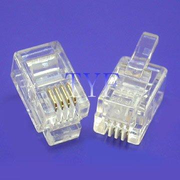 RJ14 Plugs