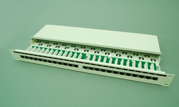 超五类24口屏蔽配线架