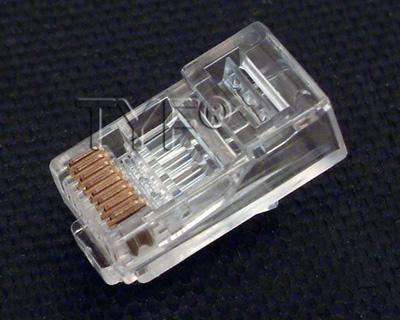 RJ45 三叉水晶头