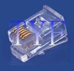 6P6C 水晶头 长身