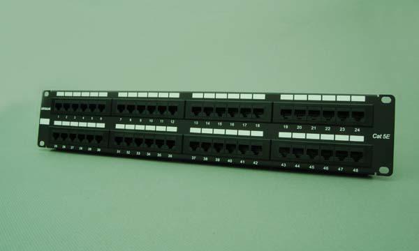 48口超五类配线架